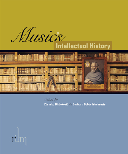 front cover of Music's intellectual history